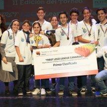 Nazaret Los Volcanes ganadores del II FLL Canarias