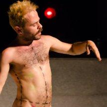 'Lo Innombrable', 'Cuerpos Achorados' y 'Danzas Primitivas'  feb17 Leal.Lav