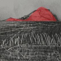 Exposicion Montañas rojas, Enrique Oramas, El Desvan, agosto-sept 2014