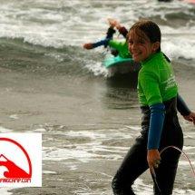 Campamento de surf en Navidad