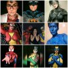 'Bodypainting' de superhéroes con...