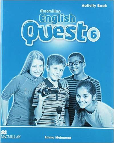 Macmillan English Quest Level Activity Book - 9780230456921