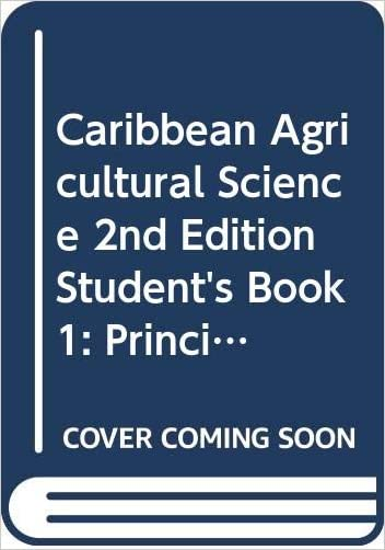 Caribbean Agricultural Science - 9780333551974