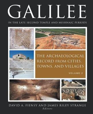 Galilee in the Late Second Temple and Mishnaic Periods - 9781451467420