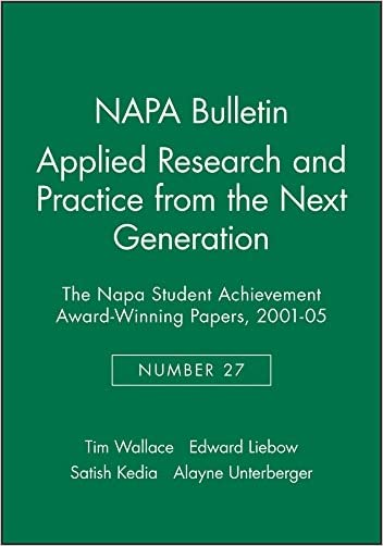 Applied Research and Practice from the Next Generation - 9781931303330