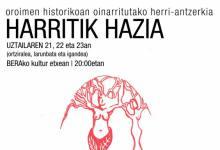 """""""Harritik hazia"""" herri antzerkia [ortziralea]"""