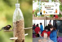 ZIENTZIA TAILERRA: Hegaztien bitxikeriak ezagutu nahi?