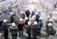 Loiolako hondakin uren araztegira bisita / Visita a la estación depuradora de Loiola
