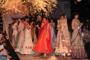 Bridal Collections Tarun Tahiliani Lakme Fashion Week 2014
