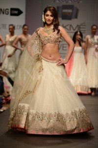 Bridal Collections Ileana D'Cruz Anushree Reddy LFW 2014