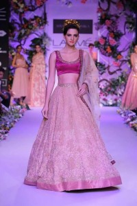Bridal Collections Shyamal & Bhumika LFW 2014