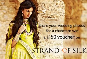 Share Wedding Photos Strand of Silk Voucher