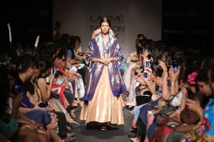 Sanjay Garg's Collection at the Lakme Fashion Week Winter Festive 2014 edition