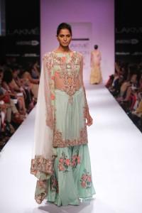 Pakistani Designer Zara Shahajan at the Lakme Fashion Week Winter Festive 2014