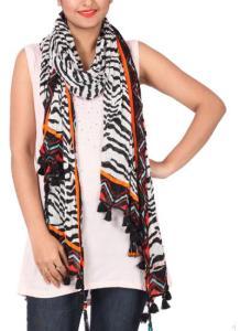 Khyati Sahani - Trendy Zebra Printed Scarf