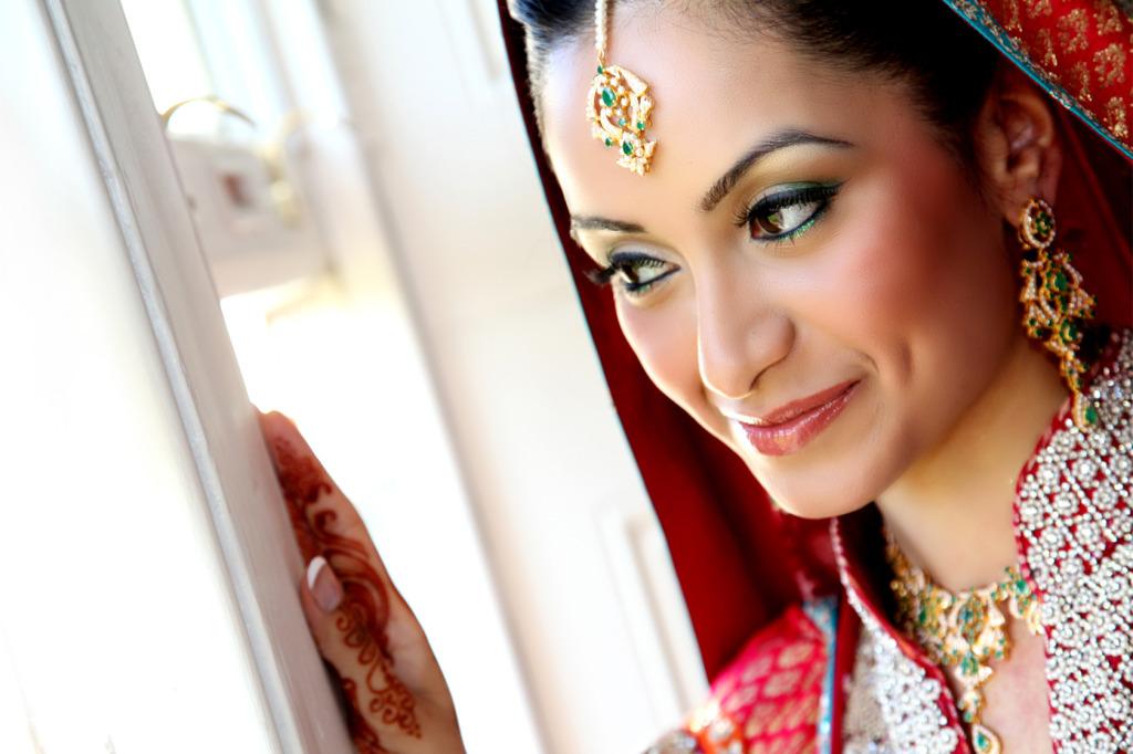 Stunning bride - Bridal lehenga