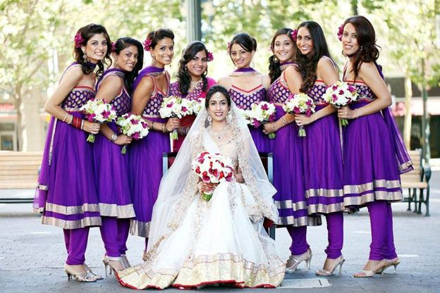 Bridesmaids - Anarkali Dress
