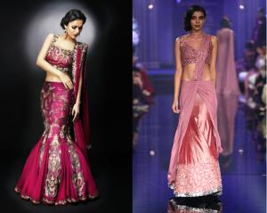 wedding sarees - reception
