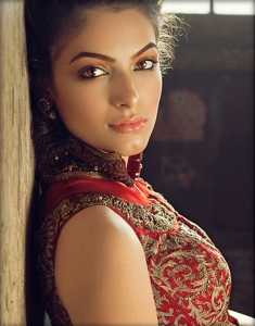 wedding sarees - makeup
