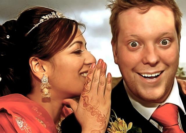 Closeup couples photo by Monir Ali