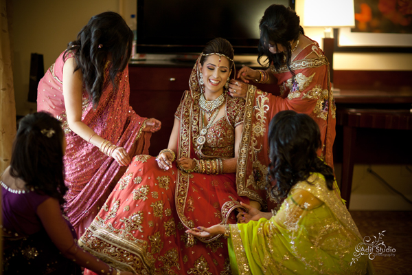 Indian Wedding Sterotypes - Wedding Preparation