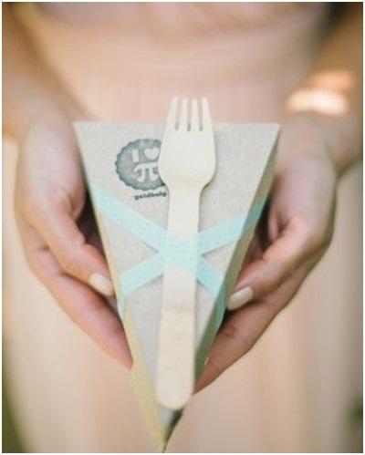 Wedding Favours - Cake to go