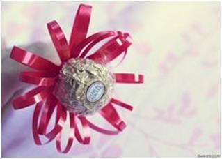 Wedding Favours - Chocolate Bouquet
