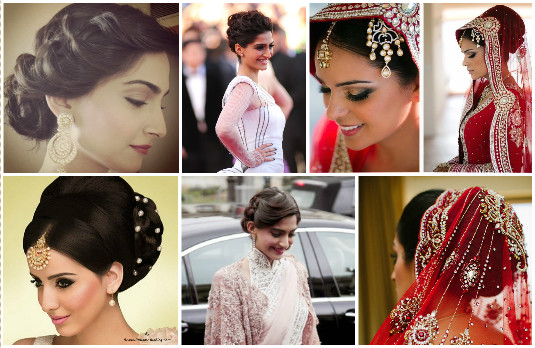 Wedding Hairstyle 2 - updos | Mane Game - Beautiful Indian Wedding Hairstyles