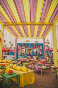 Colourful Wedding Venue | Unique Wedding Venue Decoration