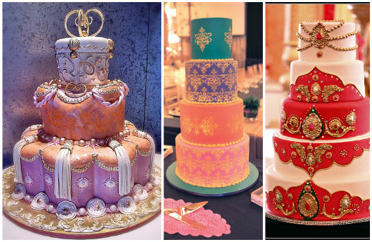 Colourful Cakes | The New Trend of Indian Wedding Cakes