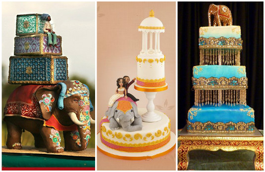 Creative Elephant Cakes | The New Trend of Indian Wedding Cakes