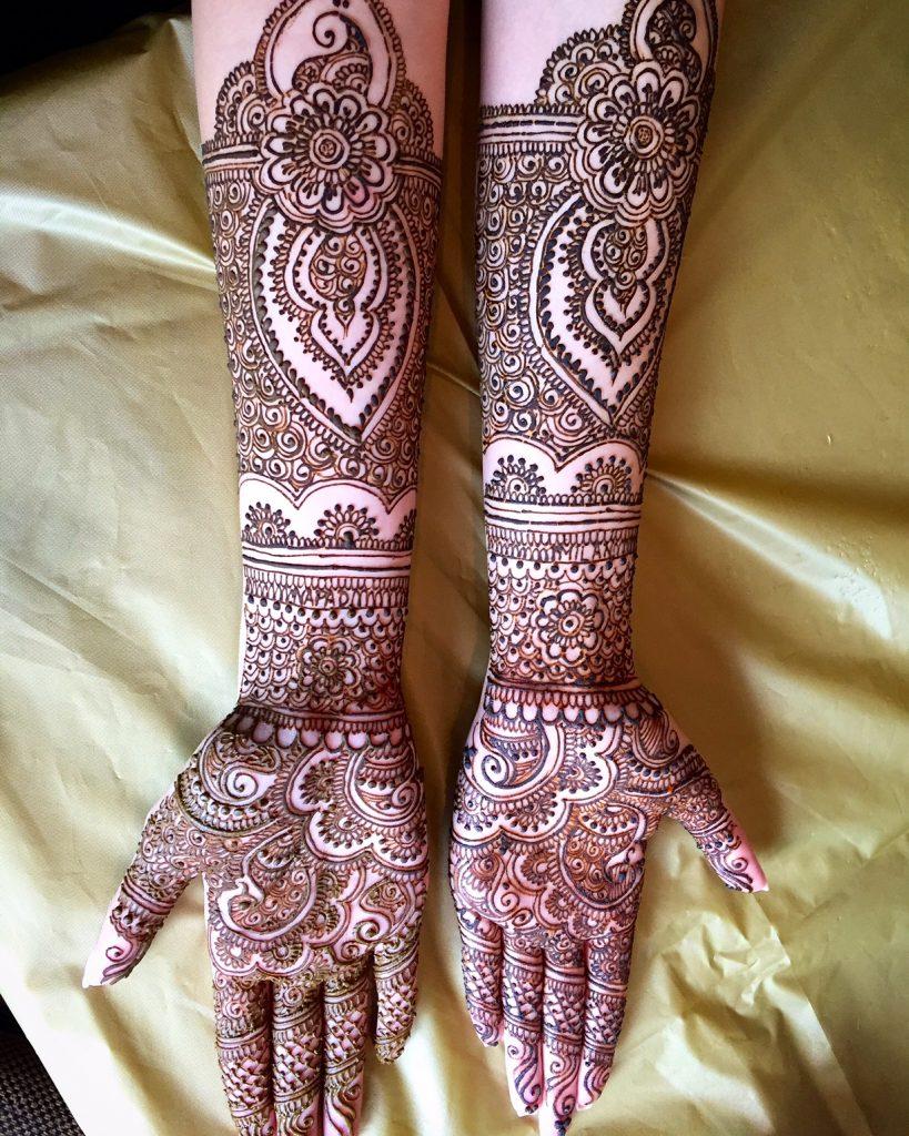 Bridal Mehendi for the Hands