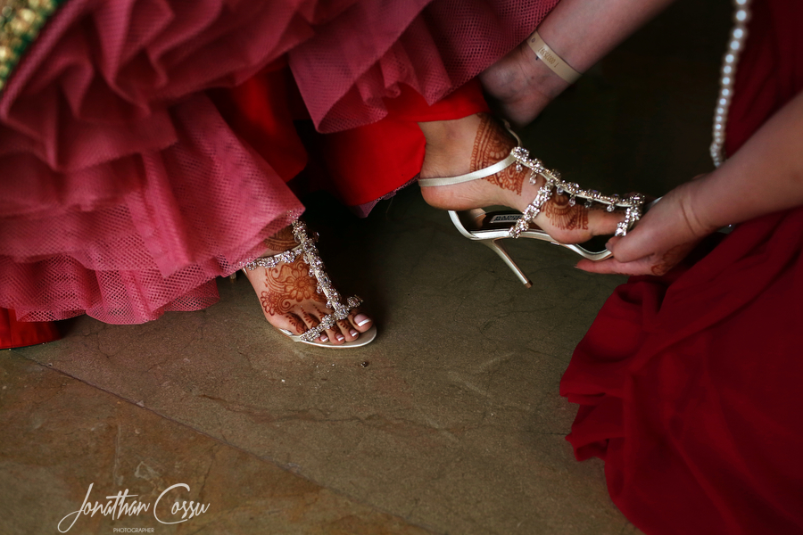 Sexy Footwear for the Bride