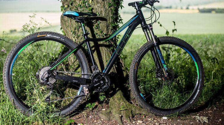 Cube Access Race review novice beginner mountain bike WLS women's specific ladies bike