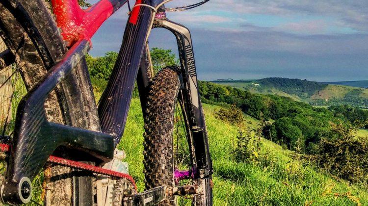 gates carbon drive mountain bike south downs way challenge bike low maintenance Olsen bikes