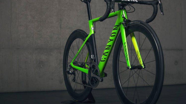 Canyon build custom bike design frame cycling for Rio 2016 Olympics