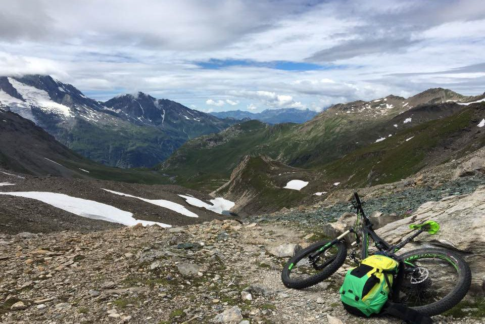 Ben Jones MTB Adventure Mont Blac Enduro Trail Review