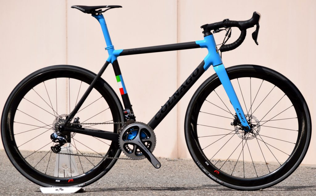 Colnago C60 disc road race endurance bike carbon comparison vs 2016 2017 winter new