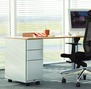 300mm wide desk supporting pedestal