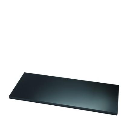Zusatzfachboden für Universal Flügeltürenschrank • Bisley E198P1 • Schwarz