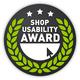 Shopusabilityaward logo