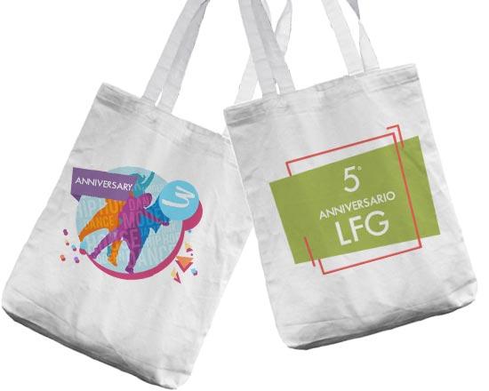 stampa su borse shopper