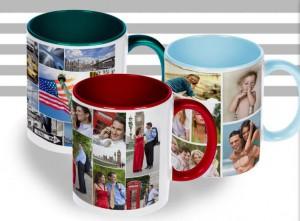 Tazza collage personalizzata
