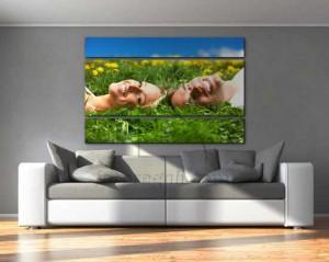 Tela in pannelli personalizzata con foto