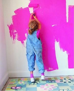 arredare piccoli spazi, colorare le pareti