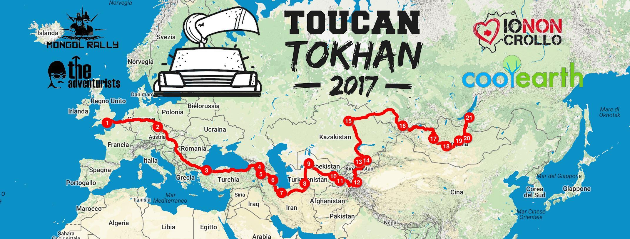 itinerario mongol rally