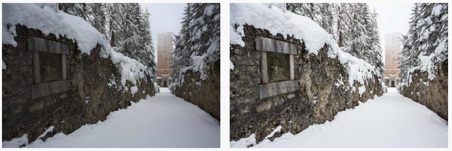 consigli per fotografare sulla neve