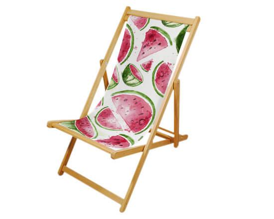 sedia sdraio personalizzata