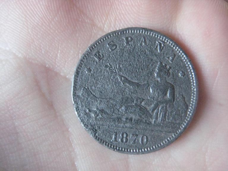 2 pesetas falsa alpaca