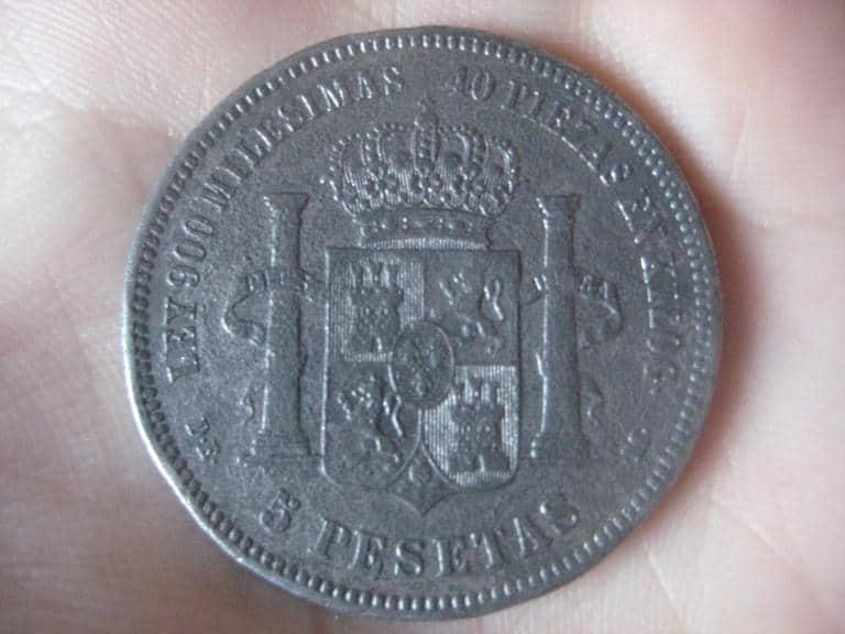 5 pesetas falsa alpaca